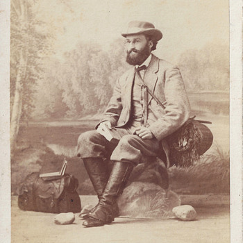 Occupational Scientist or Naturalist CDV by C. Brasch of Berlin, Germany - Photographs