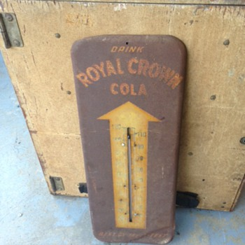 Royal Crown Rusty Thermometer