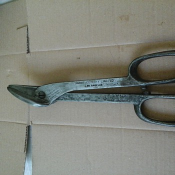 Antique TrucuT Cutlery Limited Snipping Shears Pat. Date 1926 - Tools and Hardware