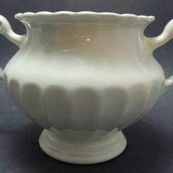 J & G Meakin England Classic White Sugar Bowl? - China and Dinnerware