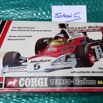 Corgi Texaco / Marlboro McLaren M23 (1:18 scale)  - Model Cars