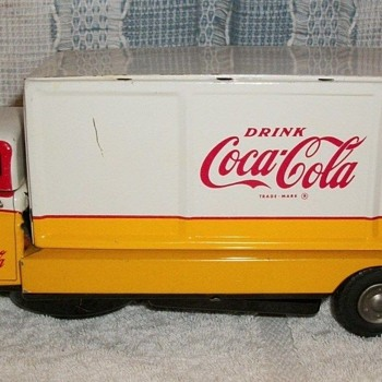 1960's Coca-Cola Japan tin truck - Coca-Cola