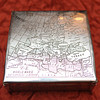 WWII Cigar Box - Sterling Silver - Battlefield Plans