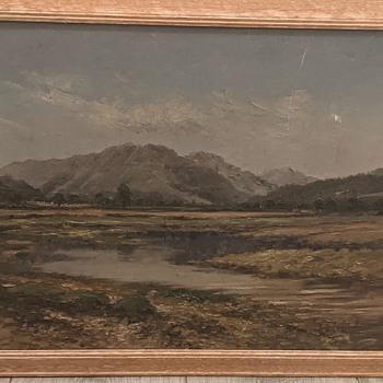 Hugh Campbell painting?  - Fine Art