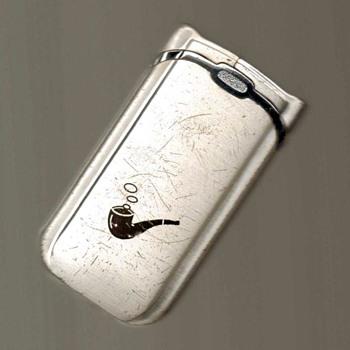 Combo Pipe / Cigarette Lighter - Tobacciana