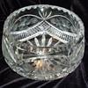 ABP floral period cut glass bowl?