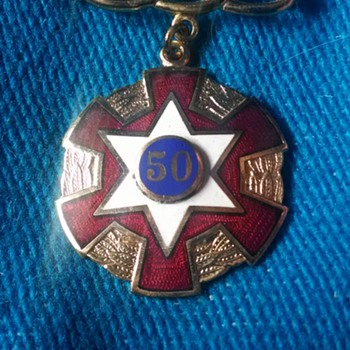 50 pin - Medals Pins and Badges