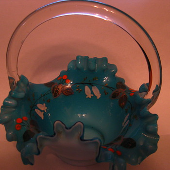 Glass Basket (EXTRA special!) - Art Glass