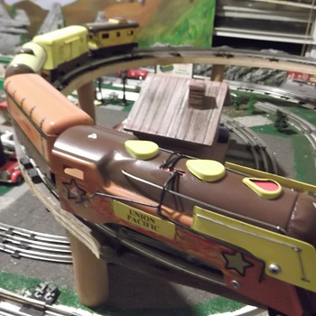 Restored Marx Commoore Vanderbilt - Model Trains
