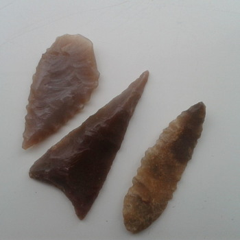Flint arrowheads. - Fine Jewelry