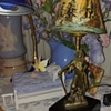 One of my man figural Art Deco Lamps. Silverware Products, Canada