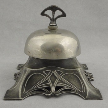 Antique German WMF Art Nouveau Mechanical Bell - Art Nouveau