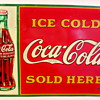 "1931 Coca-Cola 20""x28"" Tin Sign"