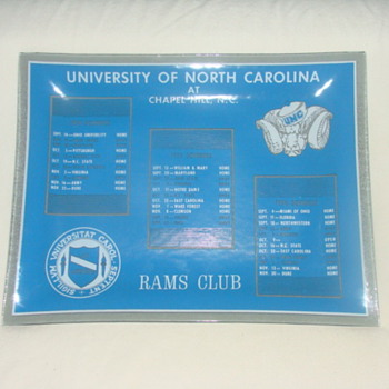 UNC sports plate ???? - Football