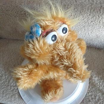 Vintage Baby Alice Snuffleupagus Sesame Street Muppet Plush Snuffy's Sister Toy - Toys