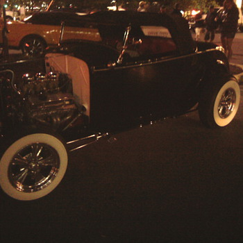 Hot Rods in Ocean City...  Coolest car night of our lives. - Classic Cars