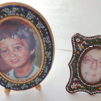 Micro Mosaic Photo Frames - Fine Jewelry