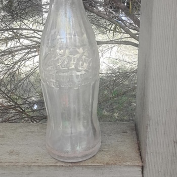 Vintage Coke bottle Newcastle Australia - Advertising