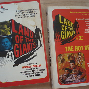 LAND OF THE GIANTS  - Books