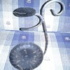 Iron Candle Holder Oil Lamp Thingy