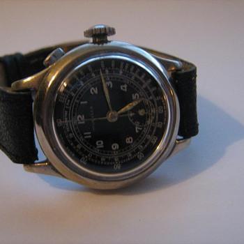 Mondia Watch ca. 1940  Chronograph  - Wristwatches