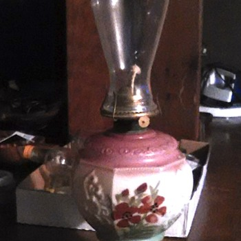 help with info on this oil lamp please - Lamps