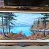 Eldon Leis Oil on Canvas Landscape