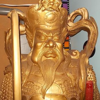 big Wooden Samurai