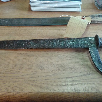 Antique Knife or sword - Tools and Hardware
