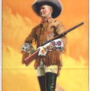 Tim McCoy Lithographs for Ringling Bros and Barnum & Bailey