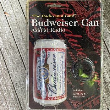 Budweiser radio  - Breweriana