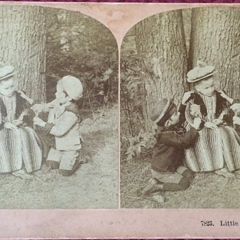 Antique Stereoscopic Photo Cards - Photographs