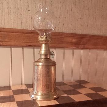 brass lantern. - Lamps