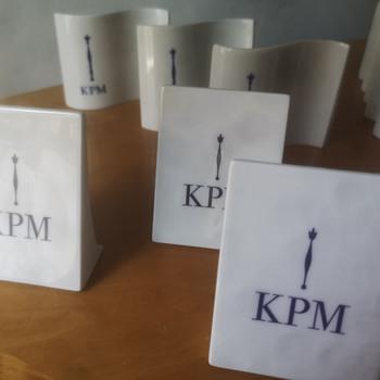 Kpm Berlin porcelain Advertising Signs - Advertising