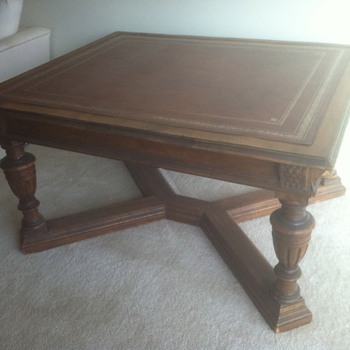 Antique Mid 19th Century Partners Desk