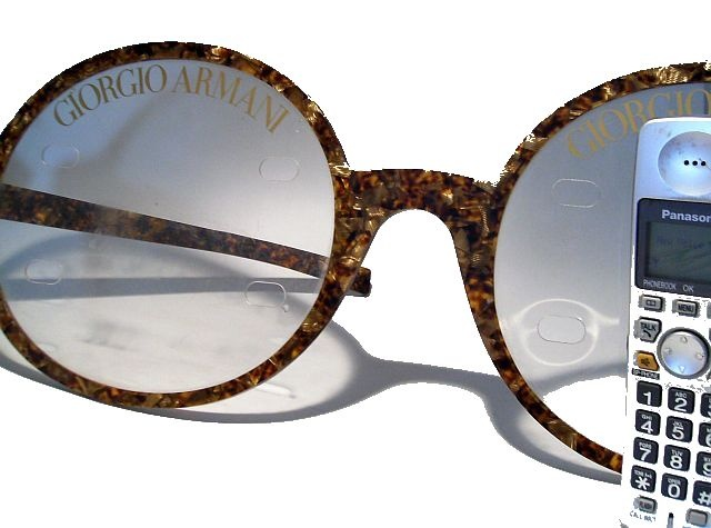 50728f66073 GIORGIO ARMANI - Advertising   Eye glass Display ( Large sized Glasses )