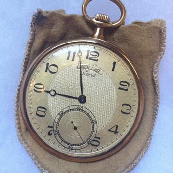 Henry Capt Geneve, Cant find anything like it - Pocket Watches