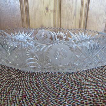 Cut glass - Glassware