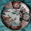 Large Imari Plate - late edo or early Meiji.