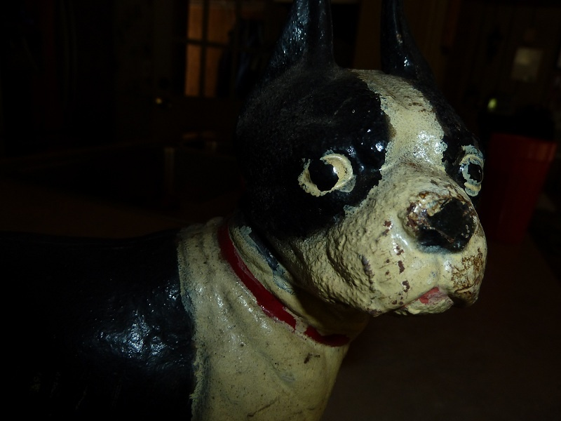 Is This Cast Iron Dog Hubley Or A Repo Door Stop Collectors Weekly