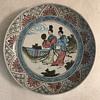 Beautifully designed Asian plate