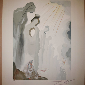 Salvador Dali Purgatory Canto 13 - Fine Art