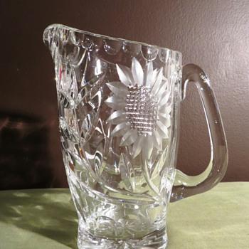 Perfect Condition American Brilliant Cut Crystal Pitcher  - Glassware