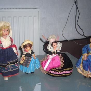 Starting my collection - Dolls