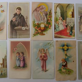 Vintage Communion Cards. - Cards