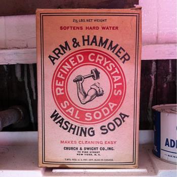 Arm & Hammer Washing Soda box - Kitchen