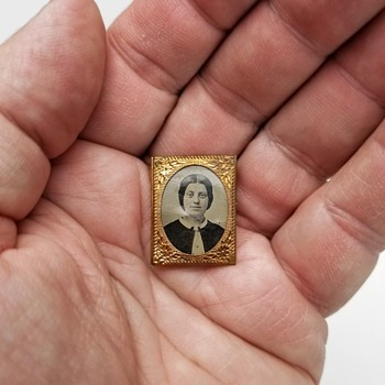 A Tiny Tintype - Postage Stamp Format - Photographs
