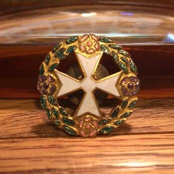 WWII Maltese Cross Pin