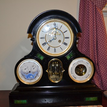 Perpetual Calendar French Clock - Clocks
