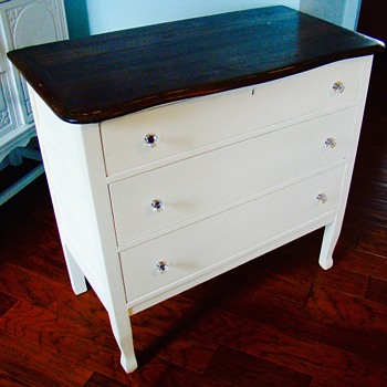 Redone dressers and chest of drawers